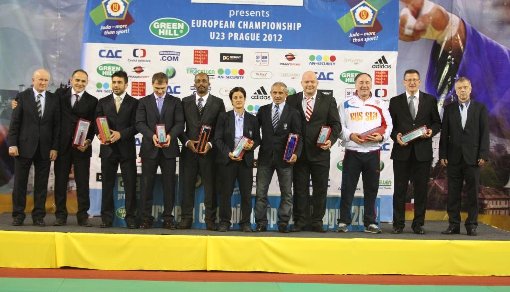 Awards at opening of the U23 European Championships