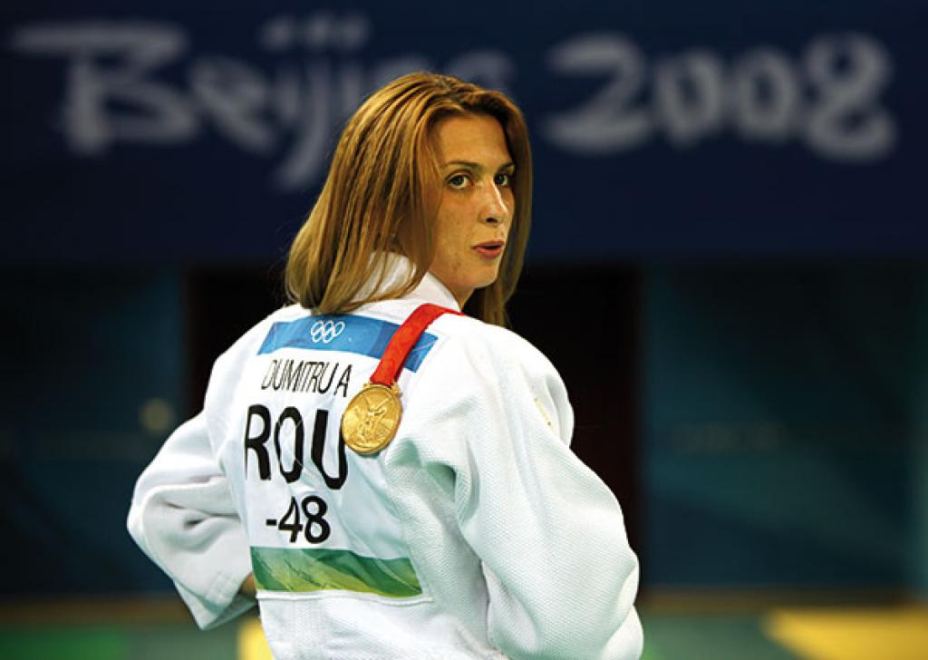"Alina Dumitru: ""Judo will always remain in my heart"""