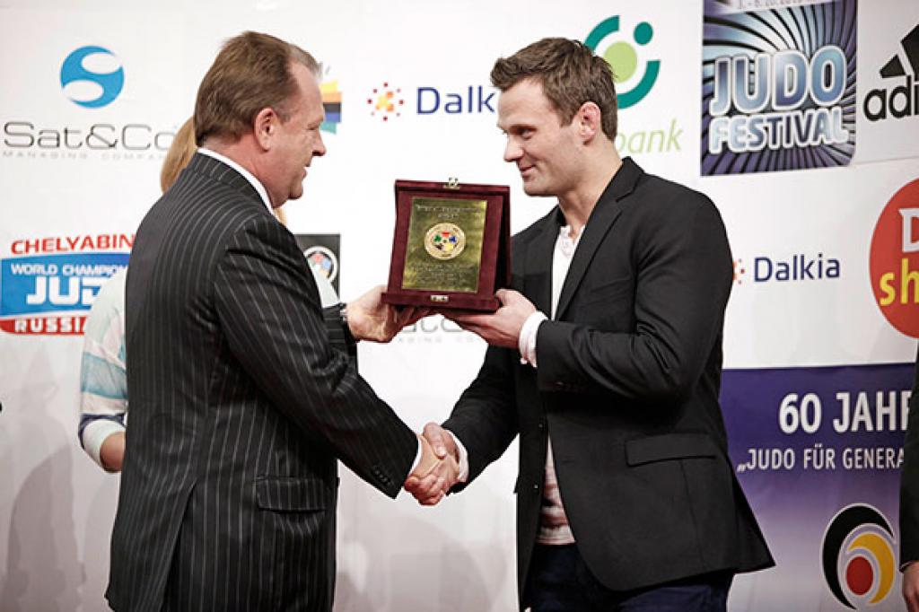 Ole Bischof and Claudia Malzahn awarded by IJF