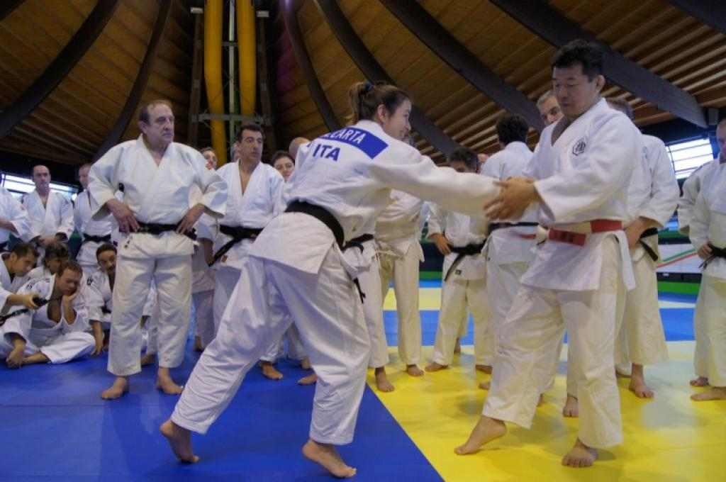 EJU Kodokan seminar in Rome great success