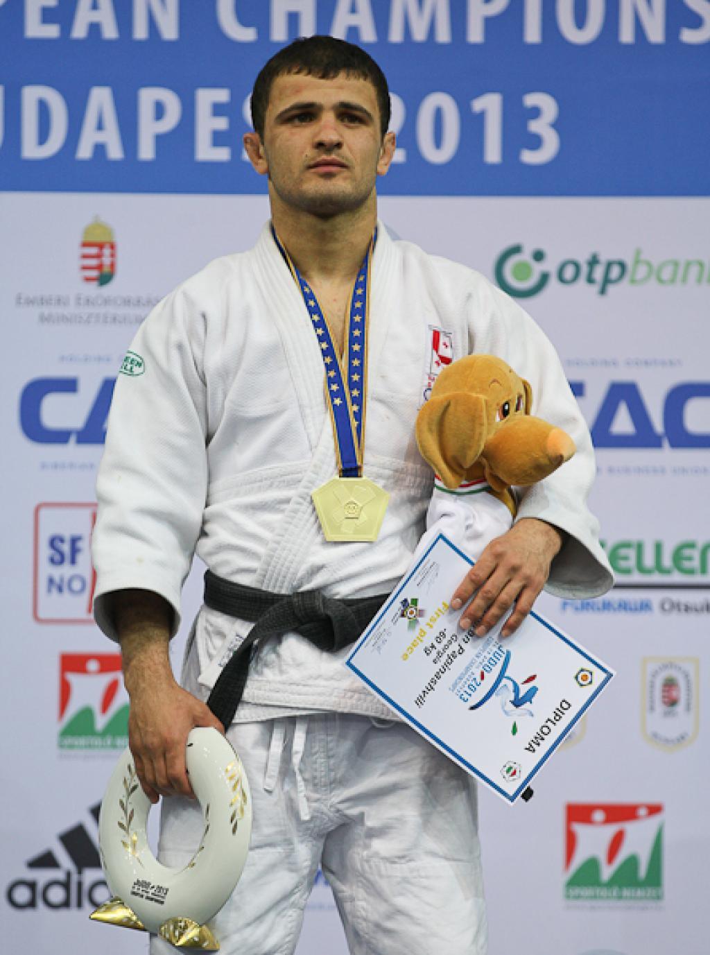 Amiran Papinashvili gives Georgia first golden boost