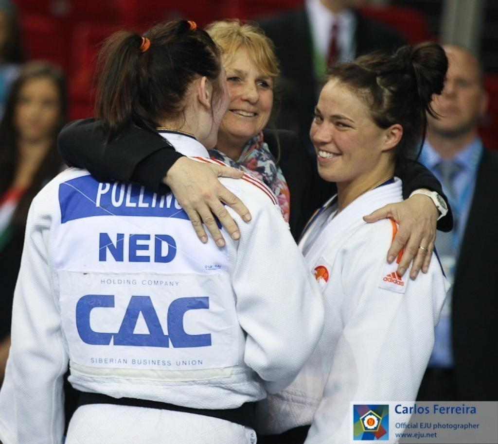 All medallists reactions of day 2