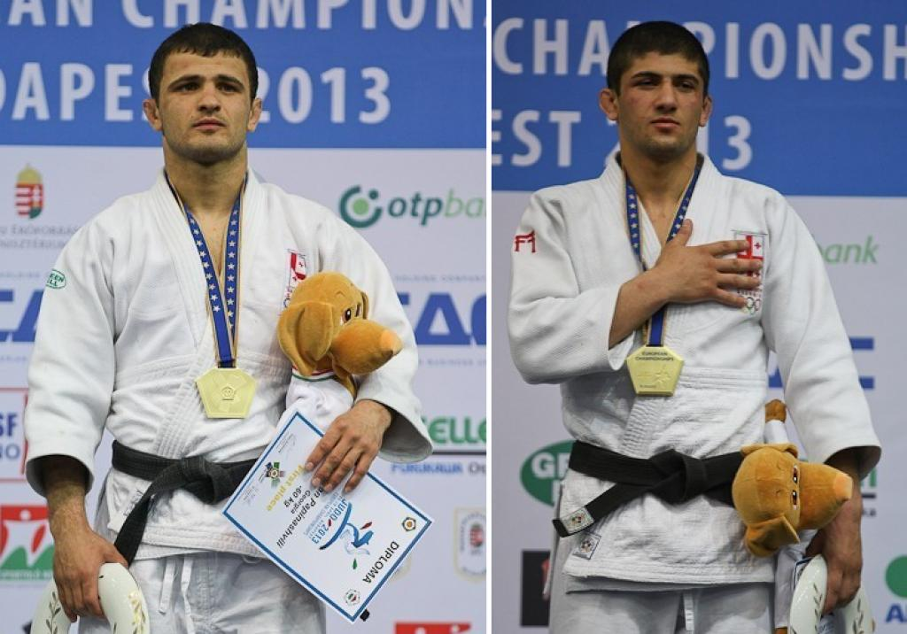 Georgians take two calculated gold medals in Budapest
