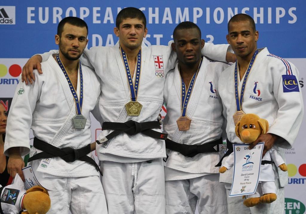 Lasha Shavdatuashvili claims second gold medal for Georgia