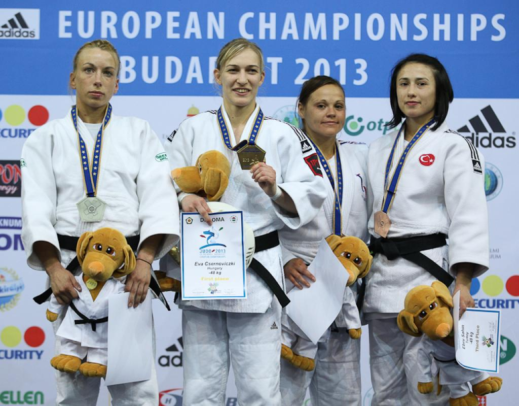 Eva Csernoviczki gives boost to Hungarian success with European title