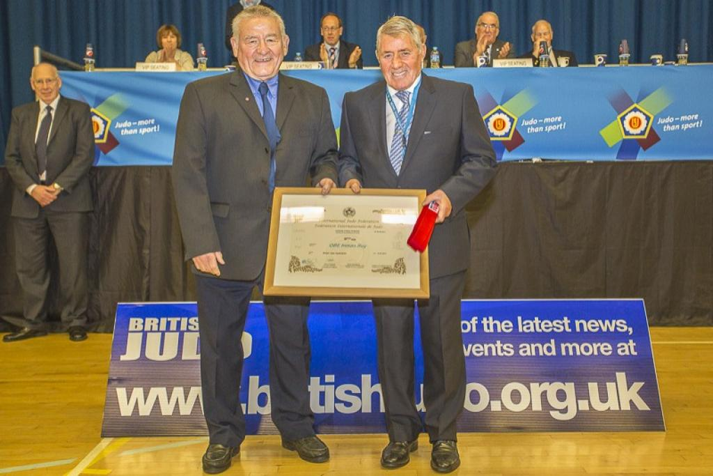 British Roy Inman OBE and Colin McIver Honoured with 9th Dan