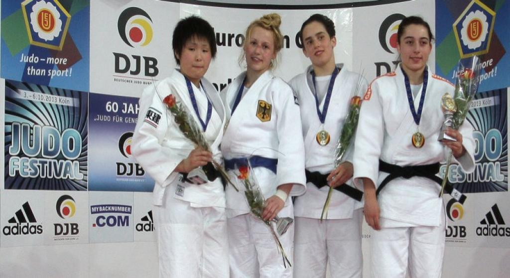 Again two gold medals for host Germany at Cadet European Cup