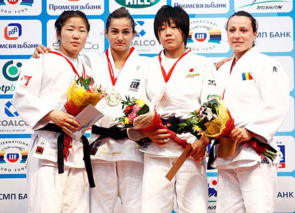 World Judo Masters in Tyumen deliver Europe 10 medals