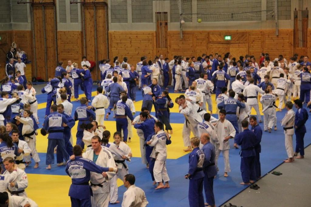 Judo is a profession, Training Camp in Leibnitz attract many judoka