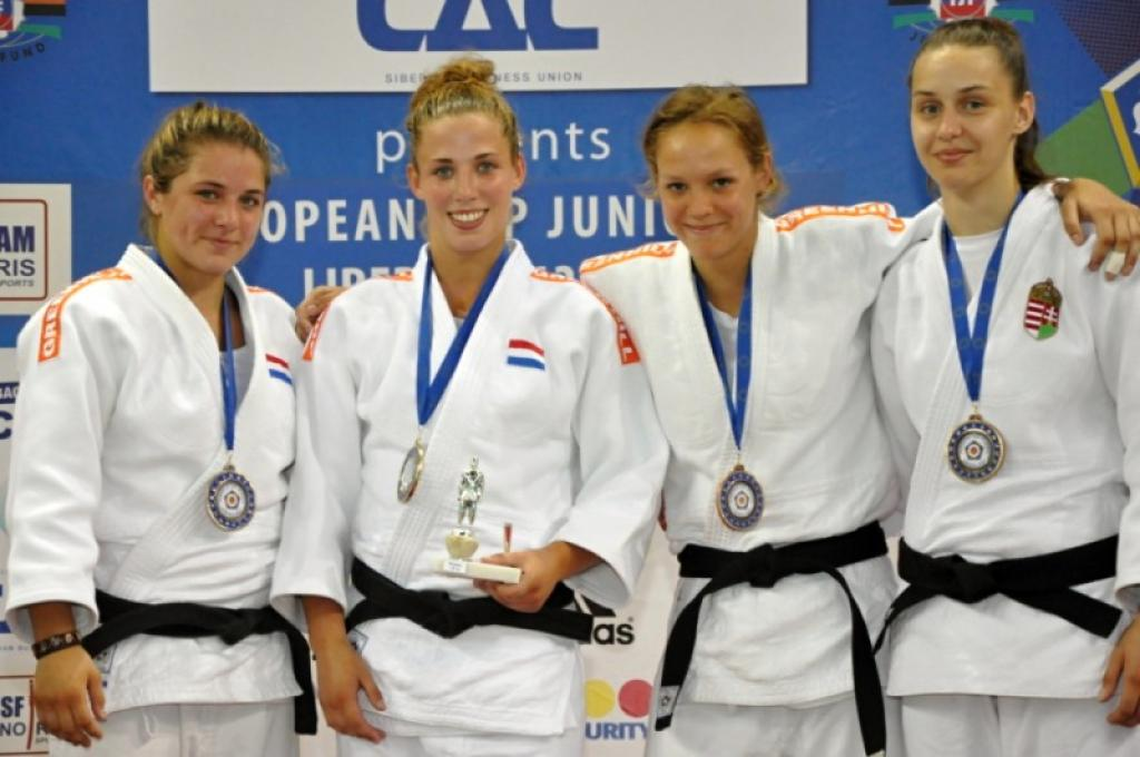 Dutch collect three gold medals at 2nd day of European Cup Juniors in Liberec