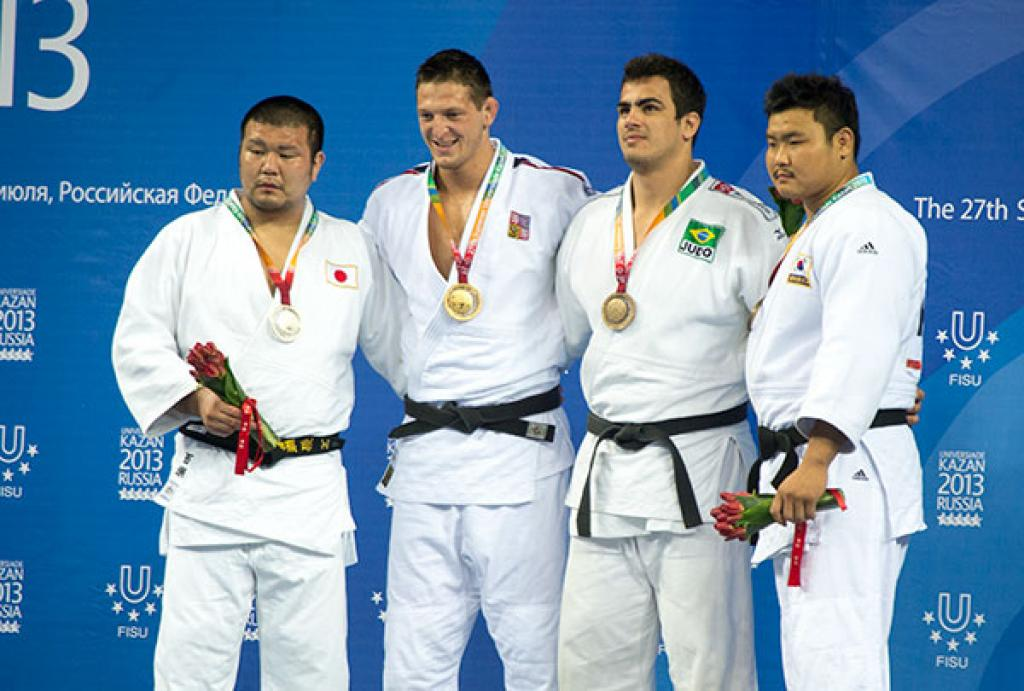 Lukas Krpalek showcases his form with double victory at Universiade
