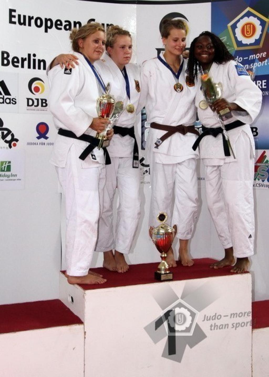Germany strong at European Cup for Juniors in Berlin