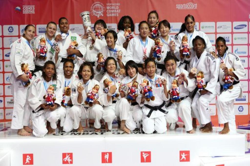 Judo presents team event at World Combat Games