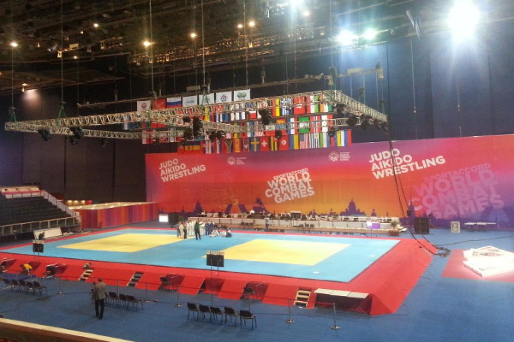 Judo in the lead at SportAccord World Combat Games