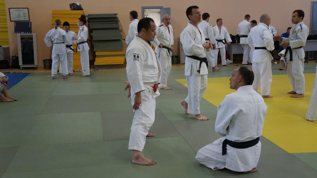 Successful seminar of Okada in Moscow