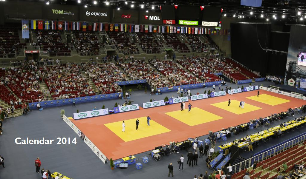 Judo Calendar of 2014 unveiled