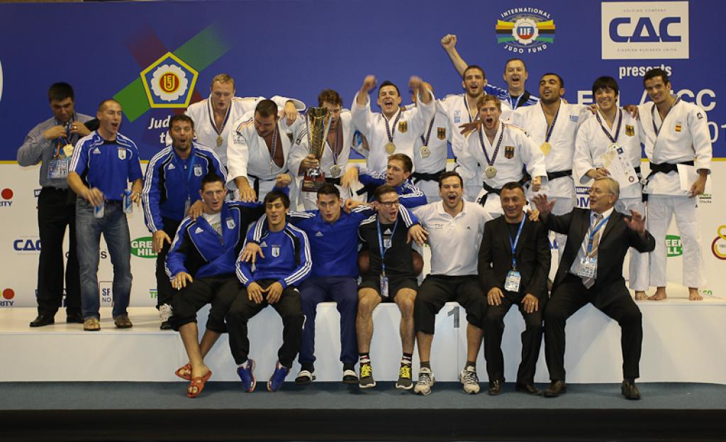 European Championships for Club spectacular end of 2013
