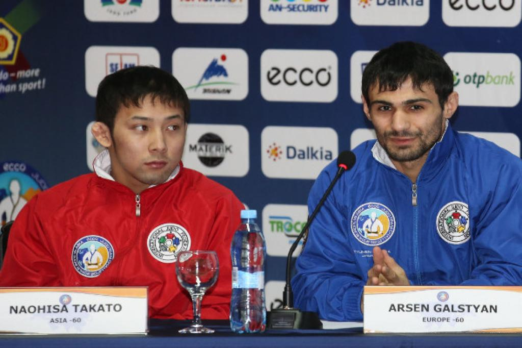 Line up of ECCO Judo Team Challenge promisses mouthwatering matches