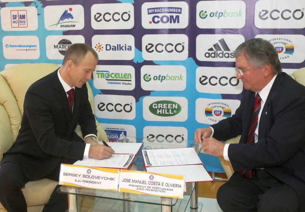 EJU and Portuguese Judo Federation sign MOU Judo at School