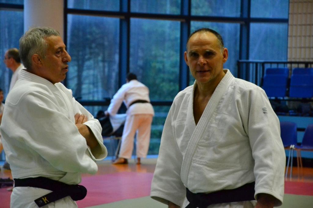 Demonstration of Judo at School in Lignano