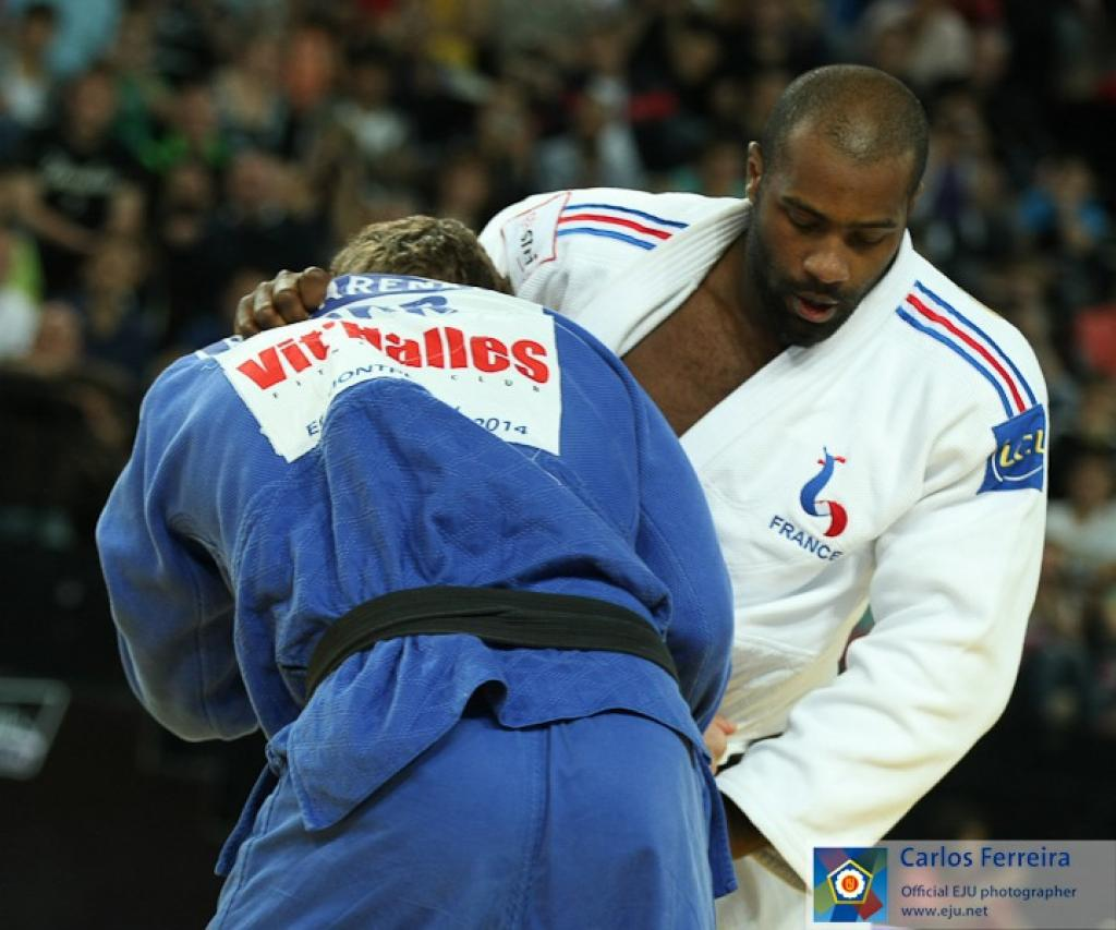 Riner, Krpalek and Tchumeo show confidence in preliminaries