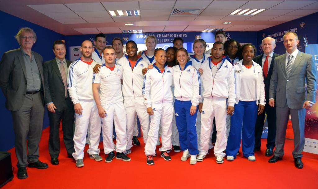 French announce team for European Championships in Montpellier