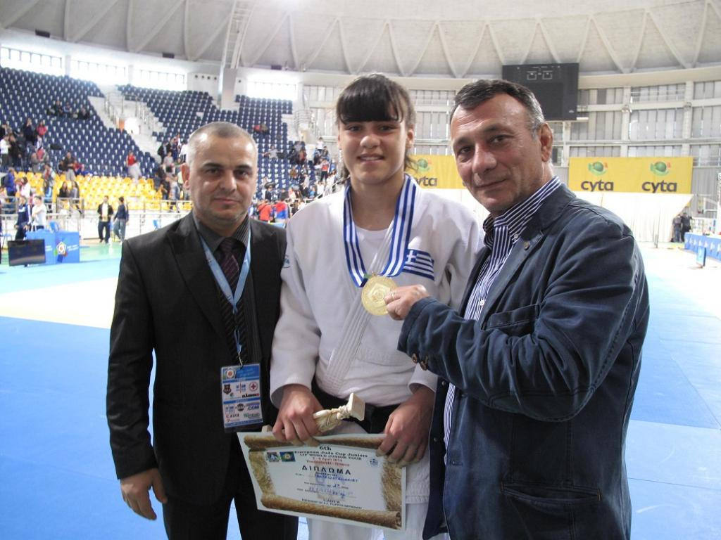 Georgia remains dominant at European Cup Juniors «6th Iliadis Cup»