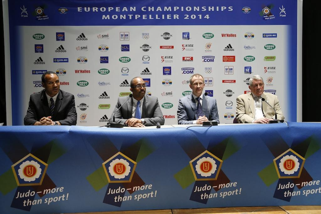 Presentation of the European Championships 2015 in Glasgow