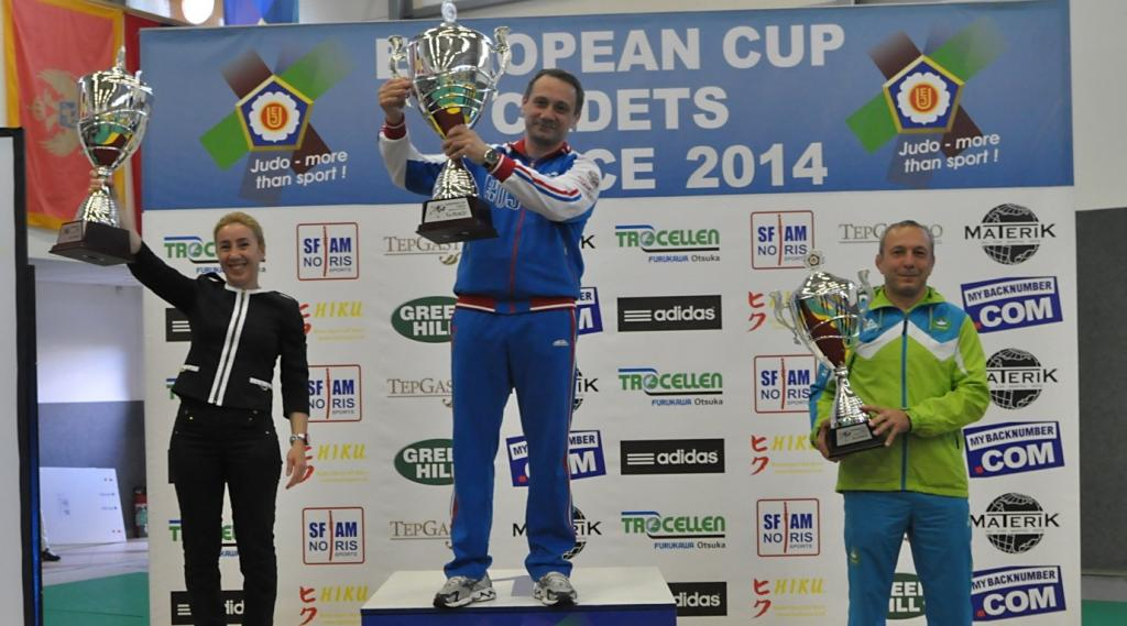Russia, Turkey and Slovenia on the top of medal tally in Teplice