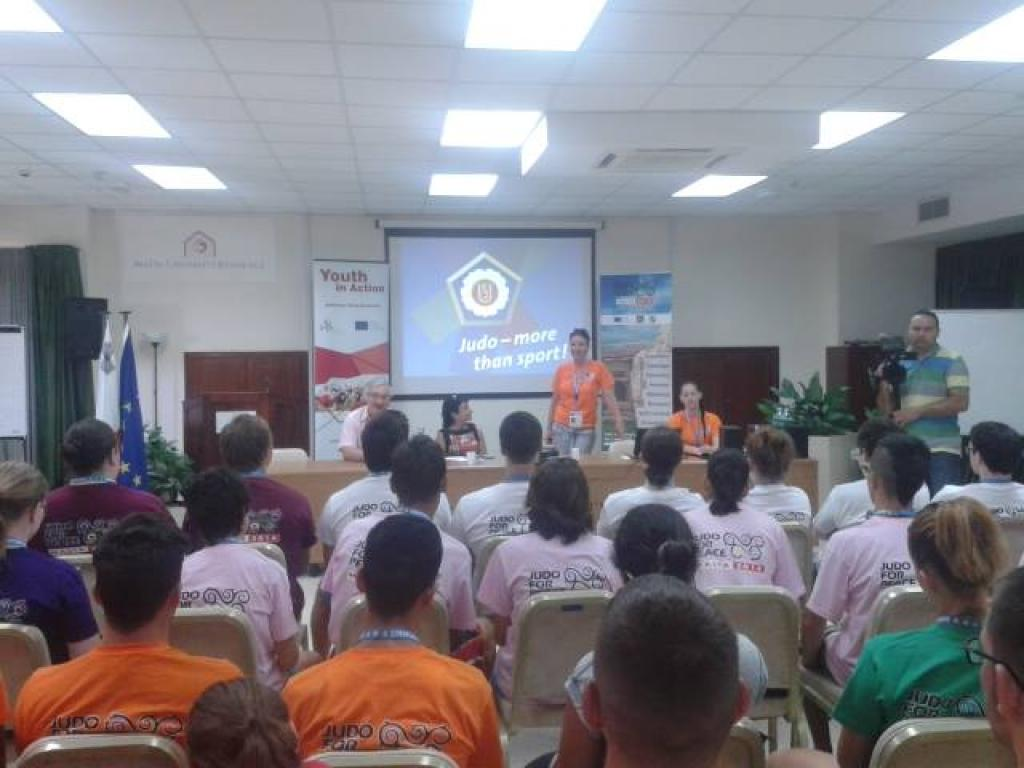 EJU PROJECT: JUDO FOR PEACE