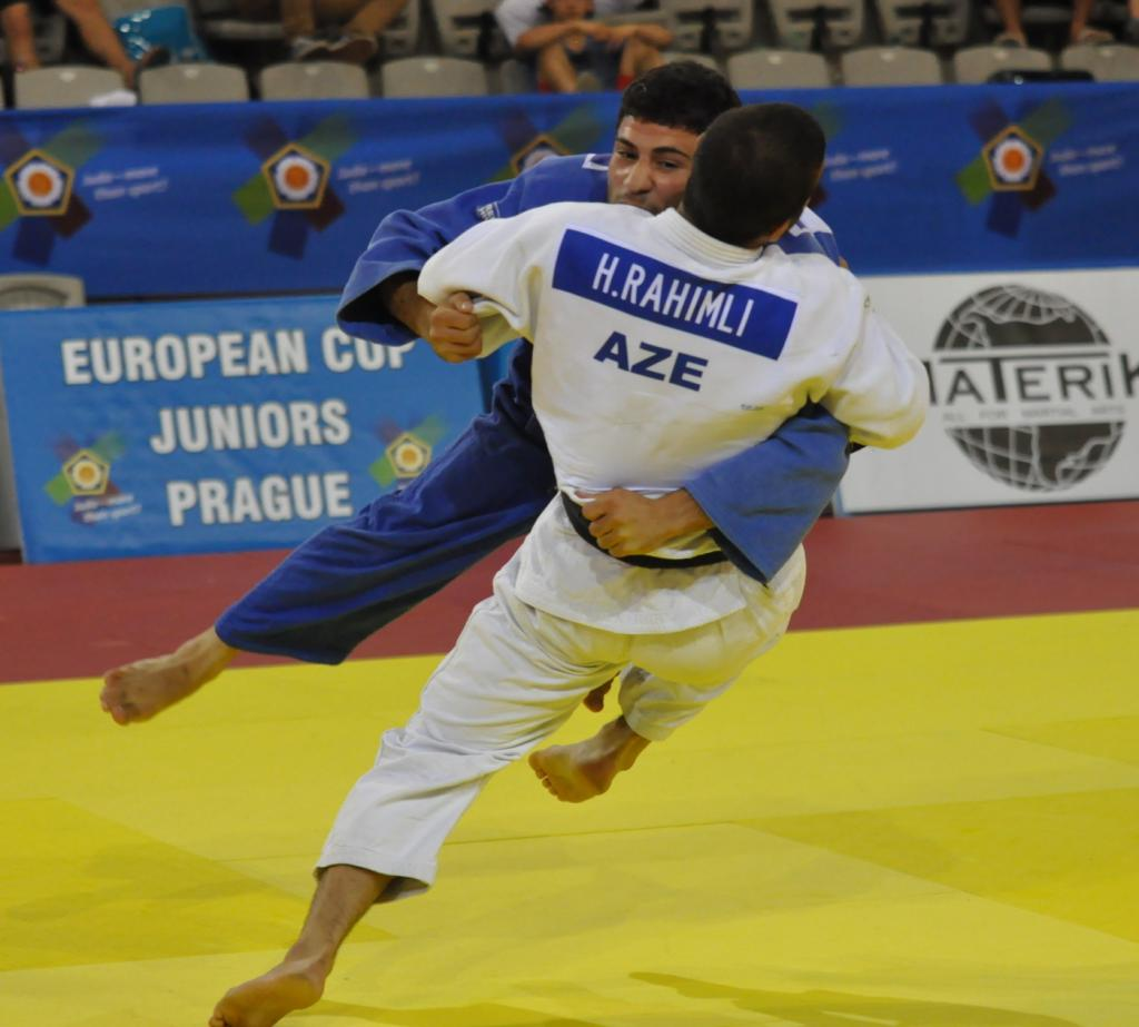 THREE GOLDS FOR BRAZIL ON OPENING DAY OF COMPETITION IN PRAGUE