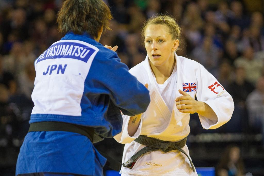 GOLDEN GLASGOW SUCCESS FOR SALLY CONWAY