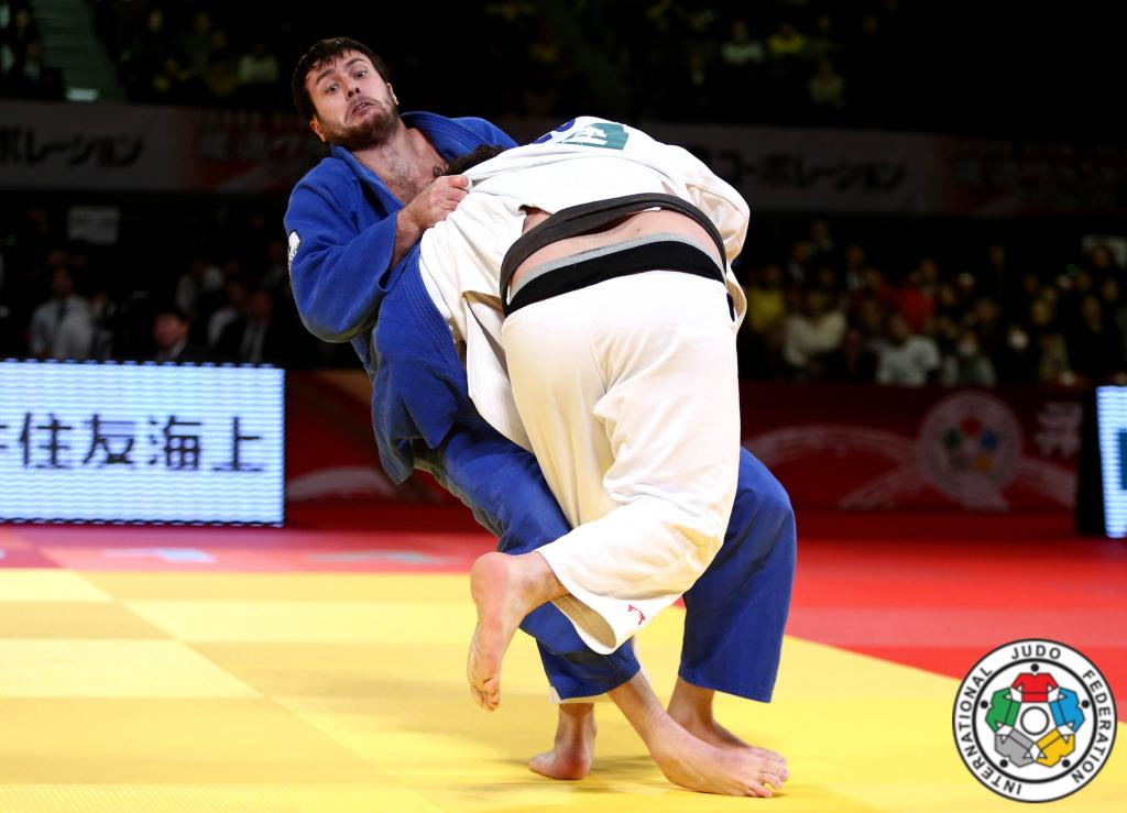 SAIDOV TAKES HEAVYWEIGHT TOP SPOT IN TOKYO