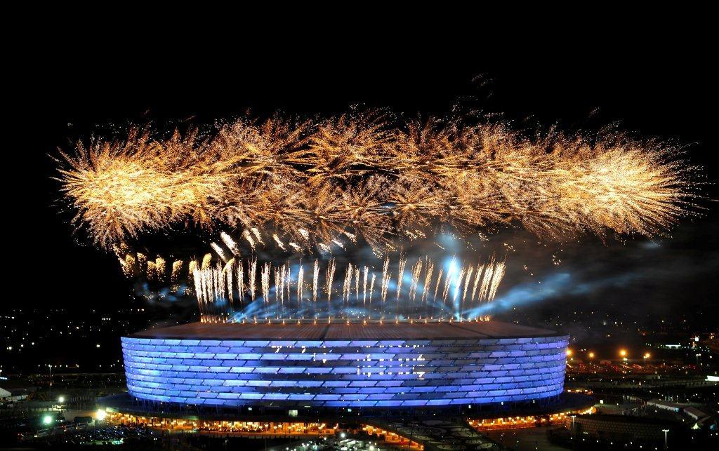 THE FIRST EUROPEAN GAMES IN BAKU HAVE OPENED