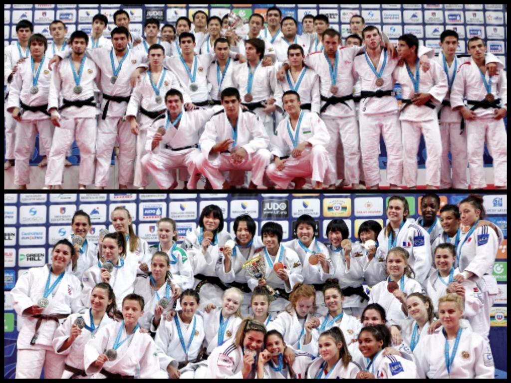 SILVERWARE FOR CROATIAN GIRLS AND RUSSIAN BOYS TEAMS