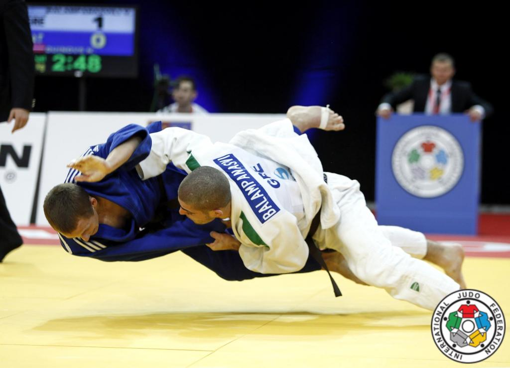 ON AND OFF THE MAT BALAMPANASVILI KNOWS GOOD JUDO