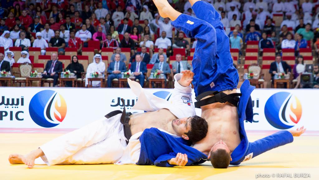 OLYMPIC CHAMPION KHAIBULAEV SHOW HIS CLASS