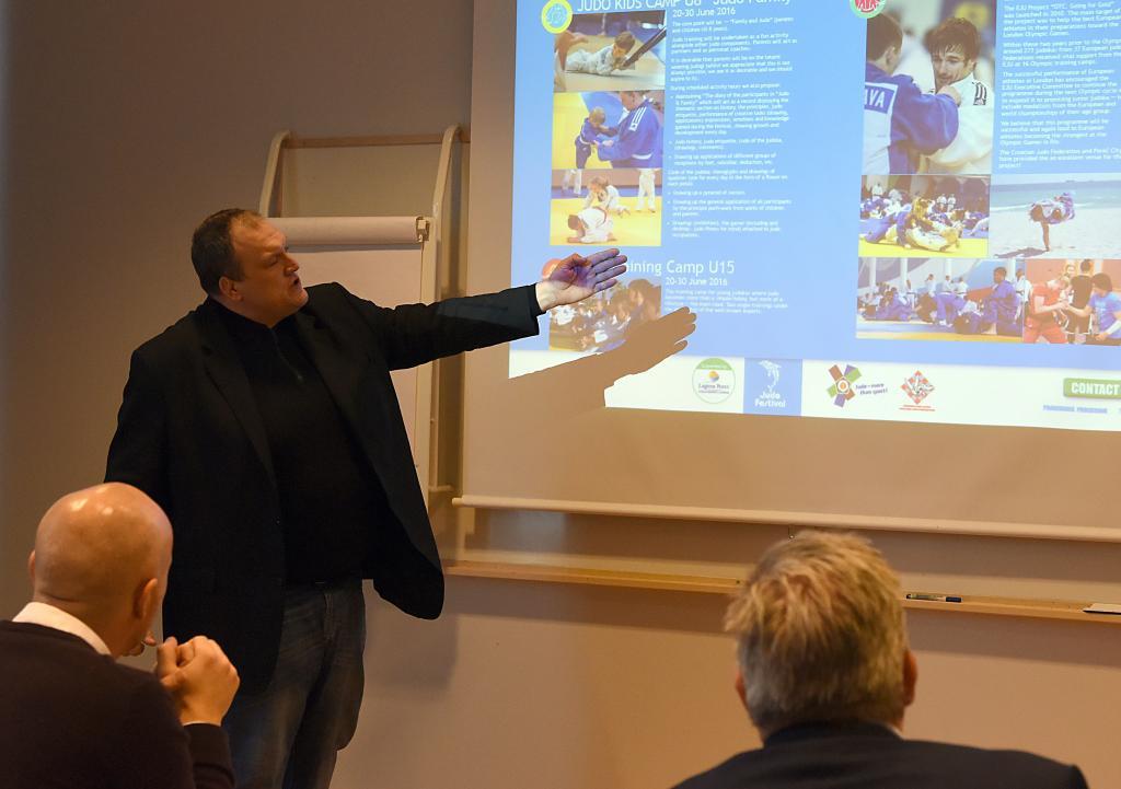 JUDO4LIFE BUSINESS SEMINAR IN SWEDEN