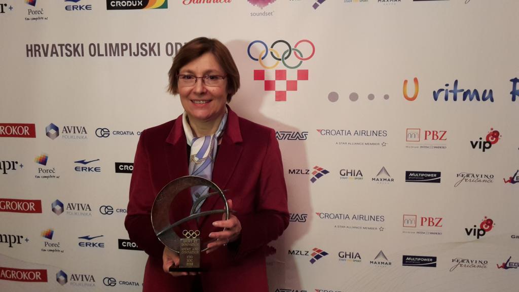 INTERNATIONAL OLYMPIC COMMITTEE AWARDS CROATIAN JUDO FEDERATION