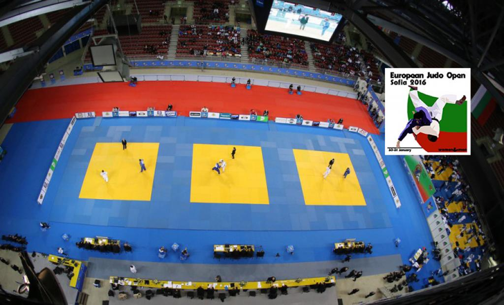THE FIRST EUROPEAN OPEN OF THE OLYMPIC YEAR IS ABOUT TO START