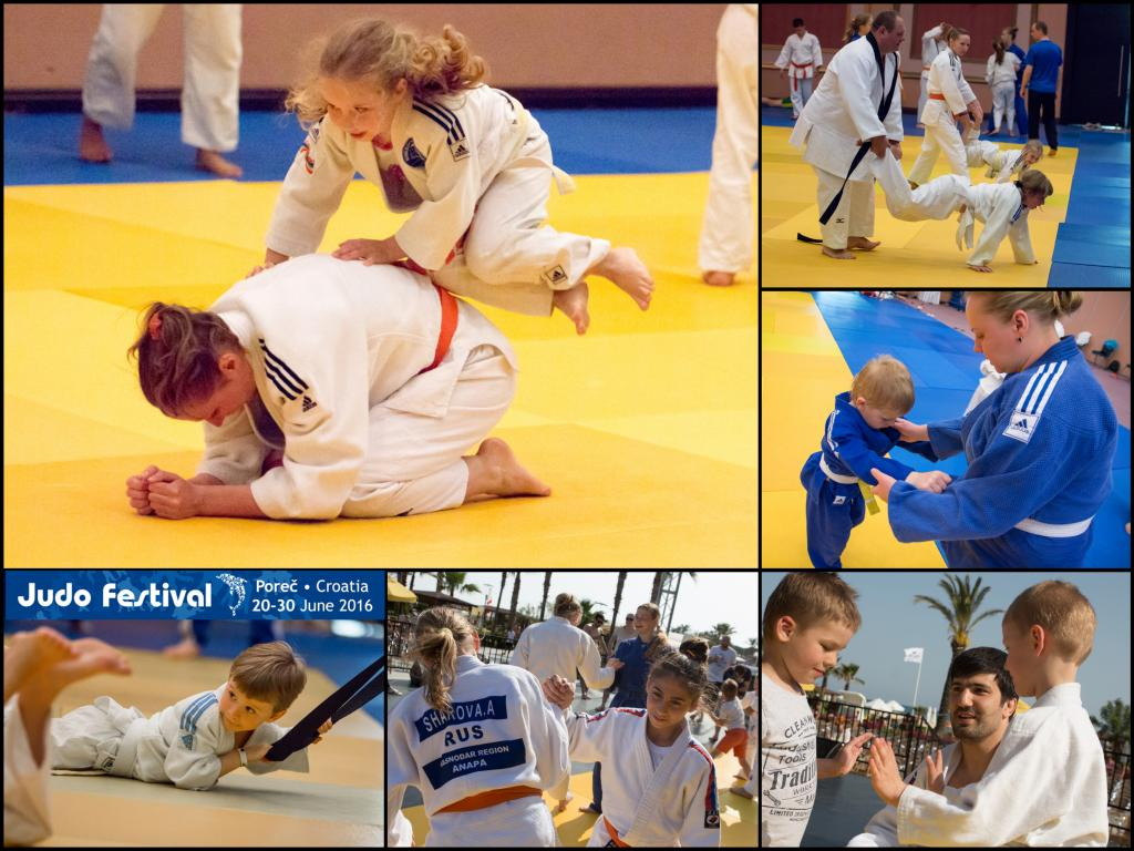 KIDS CAMP AT THE JUDO FESTIVAL