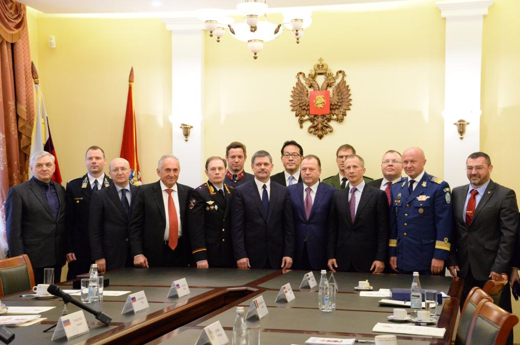 CONFERENCE OF MILITARY AND POLICE COMMISSIONS TOOK PLACE IN MOSCOW