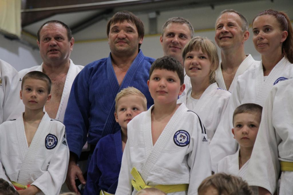 OLEG KRETSUL IS IMPRESSED OF THE JUDO FESTIVAL