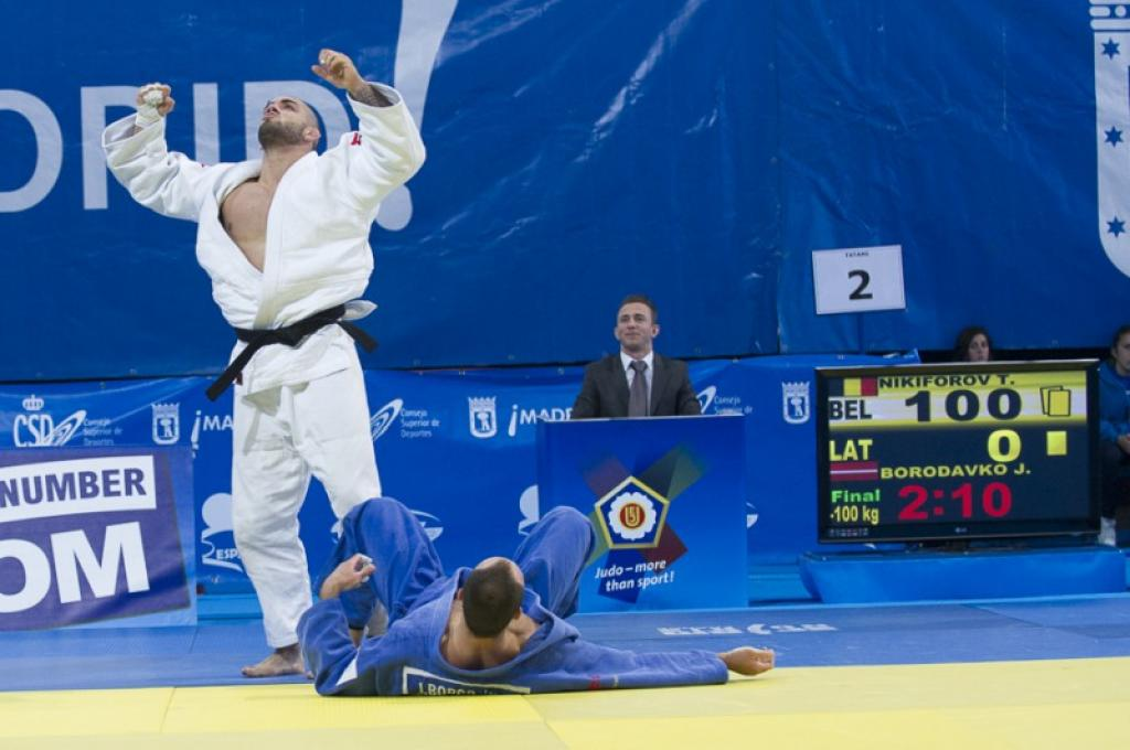 EJOPEN MADRID: TEST FOR RIO