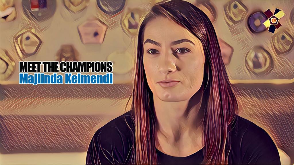 MEET THE CHAMPIONS: MAJLINDA KELMENDI
