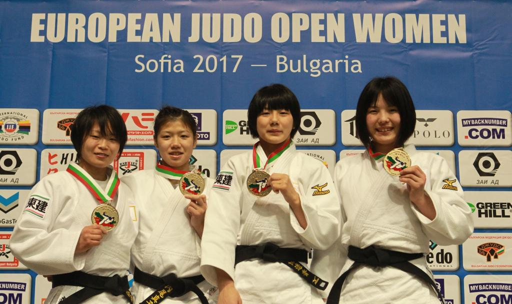 JAPAN STARTS OFF THE YEAR WITH A CLEAN SWEEP IN SOFIA