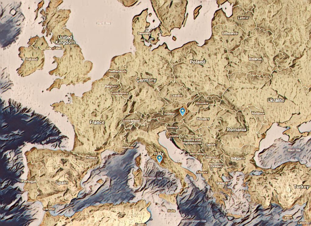 NEXT STOP: ROME & OBERWART