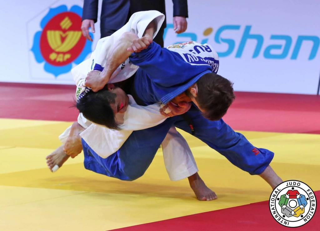 GRAND SLAM GOLD FOR SPARKLING ABDULZHALILOV