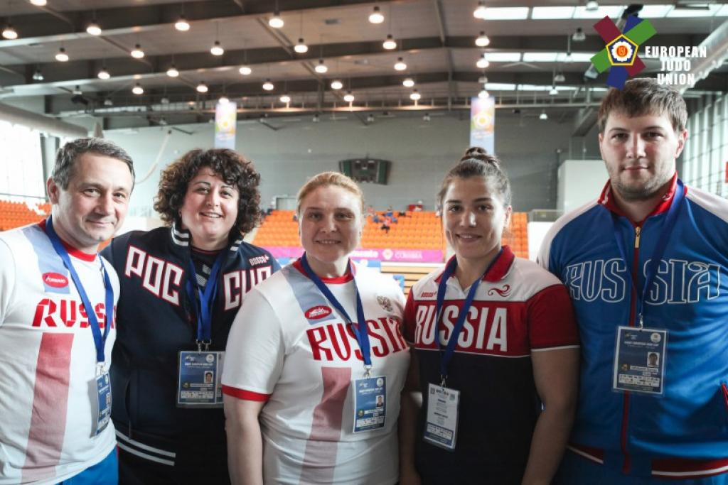 RUSSIA REPEATS GOLDEN SUCCESS IN COIMBRA
