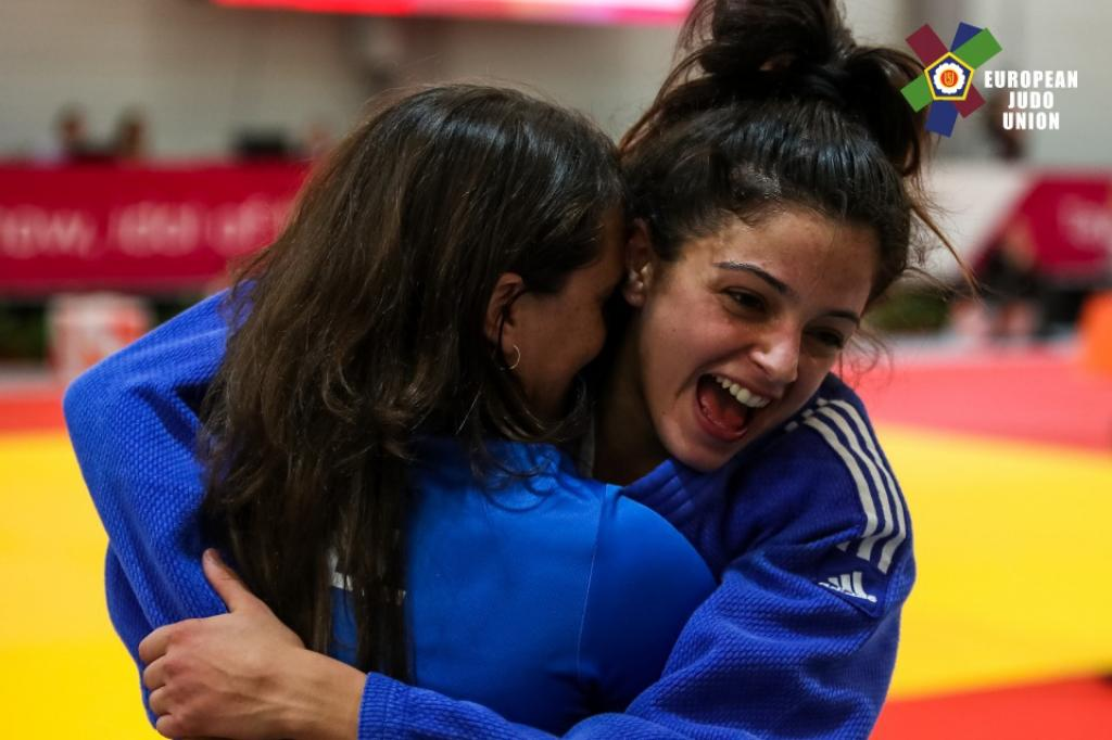 PRIMO CONVEYS FIRST GOLD FOR ISRAEL AT EYOF 2017